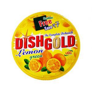 Dish Gold Dishwash Lemon Scrubber Free