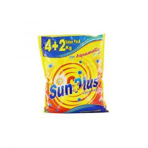 Sunplus Aquamatic Detergent washing powder - 4kg + 2kg Free